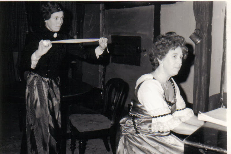 Photo from Ladies in Retirement: Alexe Keymer and Doreen Pollock (1966)