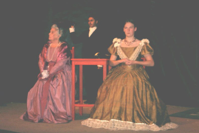 2002: Sweeney Todd: Doreen Pollock, Shabaaz Parwez and Claire Parker (Cockshaw)